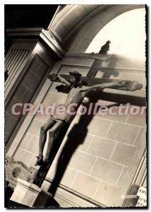 Postcard Modern Vico Christ Wooden Carves Saint Francois