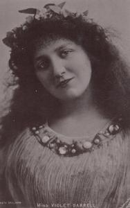 ACTRESS , Miss Violet Darrell , 00-10s ; TUCK S 437