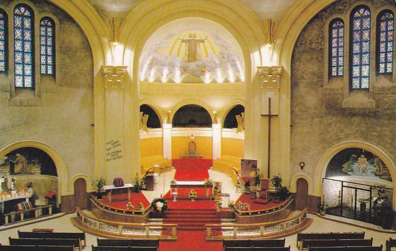 Church Interior , AMOS , Quebec , Canada , PU-1989