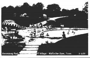 Oregon Tennessee Watts Bar Dam Watts Bar Resort Village Swimming Pool 1958 Re...