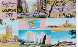 Oklahoma Greetings From Oklahoma City 1959