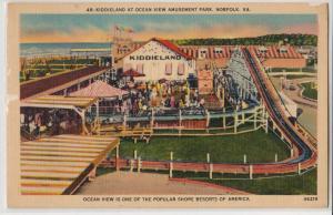 Kiddieland at Ocean View Amusement Park, Norfolk VA