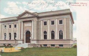 New York Schenectady Public Library 1908
