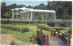 Norfolk Botanical Gardens and Administration Bldg. Norfolk, Virginia, VA, Chrome
