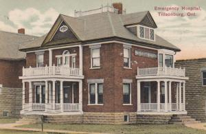 TILLSONBURG  , Ontario , Canada , 1911 ; Emergency Hospital