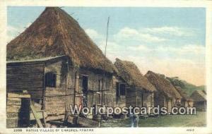 Republic of Panama, República de Panamá Native Village of Chagres Panama Ci...