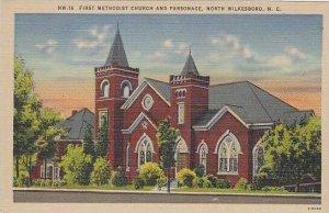 North Carolina North Wilkesboro First Methodist Church