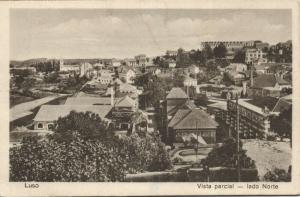 portugal, LUSO, Vista Parcial, Lado Norte (1927) Stamps