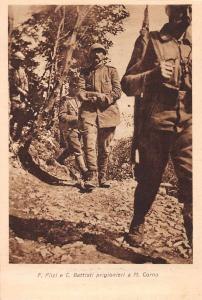 Italian Military Soldiers with Prisoners Antique Postcard J73445