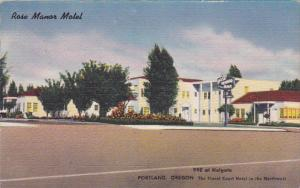 Rose Manor Motel, PORTLAND, Oregon, 1930-1940s