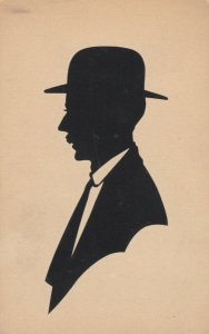 HAND-CUT Silhouette, 1900-10s; # 5