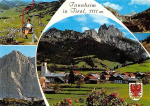 Tannheim in Tirol Cable Car Mountains Landscape