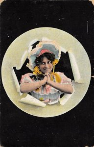 Hats Post Card 1913