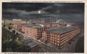 AKRON, Ohio, PU-1919; The Factories Of The B.F. Goodrich Company