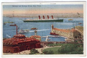 Battery and Hudson River, New York
