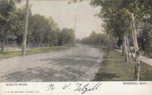 WINNIPEG, Manitoba, Canada, 00-10s; Roslyn Road
