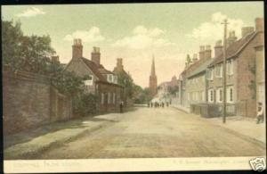 warwickshire, COLESHILL, Street Scene from South 1910s