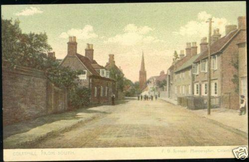 warwickshire, COLESHILL, Street Scene from South 1910s
