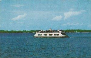 M V Champlain Passenger Ferry On Lake Champlain
