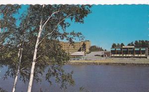 Waterfront view , AMOS , Quebec , Canada , 50-60s
