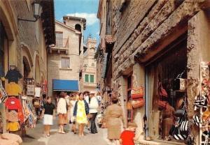 Repubblica di San Marino, Via Orafo Street Shops Promenade