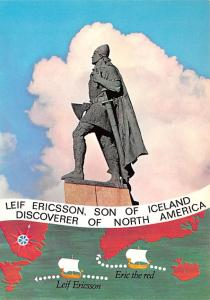 Iceland Leif Ericsson, Son of Iceland Discoverer of North American  Son of Ic...
