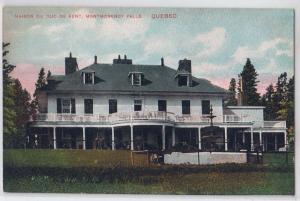 Maison Du Duc De Kent, Montmorency Falls Quebec