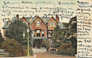 RALEIGH NC~GOVERNOR'S MANSION~1906 TUCK SERIES 5069 POSTCARD