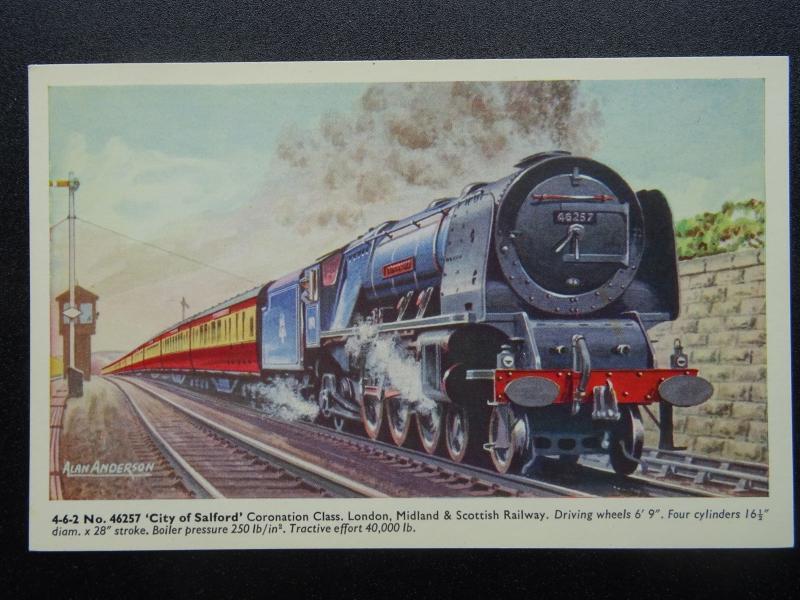 Lm & Sr Londre Midland & Écossais Chemin de Fer No.46257 City Of Salford -