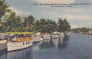 Fort Lauderdale The Fishing And Pleasure Fleet On Mysterious New River Fort L...