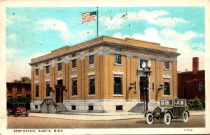 Minnesota Austin Post Office 1929 Curteich
