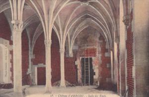 Salle Des Etats, Chateau d´AMBOISE (Indre et Loire), France, 1900-1910s