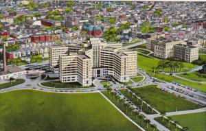 New York Albany Aerial View Veterans Hospital