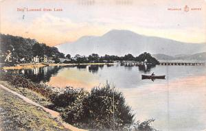 Scotland, UK Old Vintage Antique Post Card Ben Lomond from Luss 1905