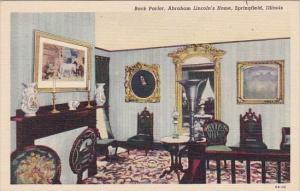 Back Parlor Sbraham Lincolns Home Springfield Illinois