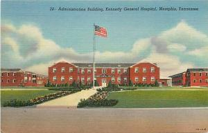 TN, Memphis, Tennessee, Kennedy General Hospital, Administration Building