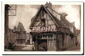 Old Postcard Romorantin The Carroir d & # 39Oree