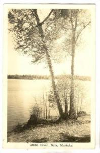 RP, Moon River, Bala, Muskoka, Ontario, Canada, 1920-1940s