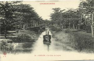 CPA Vietnam Indochine COCHINCHINE Cholon - Un Coin du Loyom (60618)
