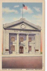 Wisconsin Sheboygan Bank Of Sheboygan Curteich sk3549