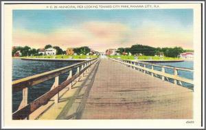 Florida Panama City Postcard