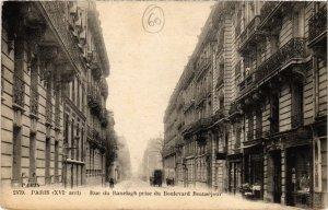 CPA AK PARIS 16e Rue de Ranelagh prise du Boulevard Beauséjour (66575)
