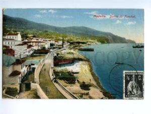 138256 Portugal MADEIRA Bahia do FUNCHAL Vintage postcard