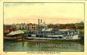 Steamboat Landing Grand Rapids MI Writing on back