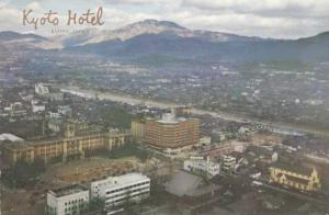 The Kyoto Hotel and Surrounding Region - Kyoto, Japan - pm 1964