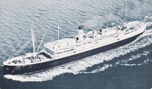 Greetings froma SS. Aleutian, Passenger Ocean Liner, The Alaska Line, Alaska ...
