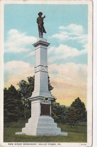 Pennsylvania Valley Forge New Jersey Monument 1935