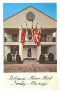 Bellemont Motor Hotel, Natchez, Mississippi, 40-60s