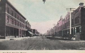 MILES CITY , Montana , 1900-10s ; Main Street
