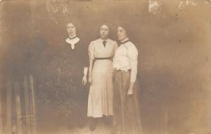 Vintage Women, Old Photo Postcard